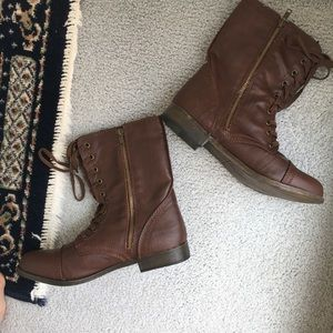 Country Girl Brown Ankle Boots